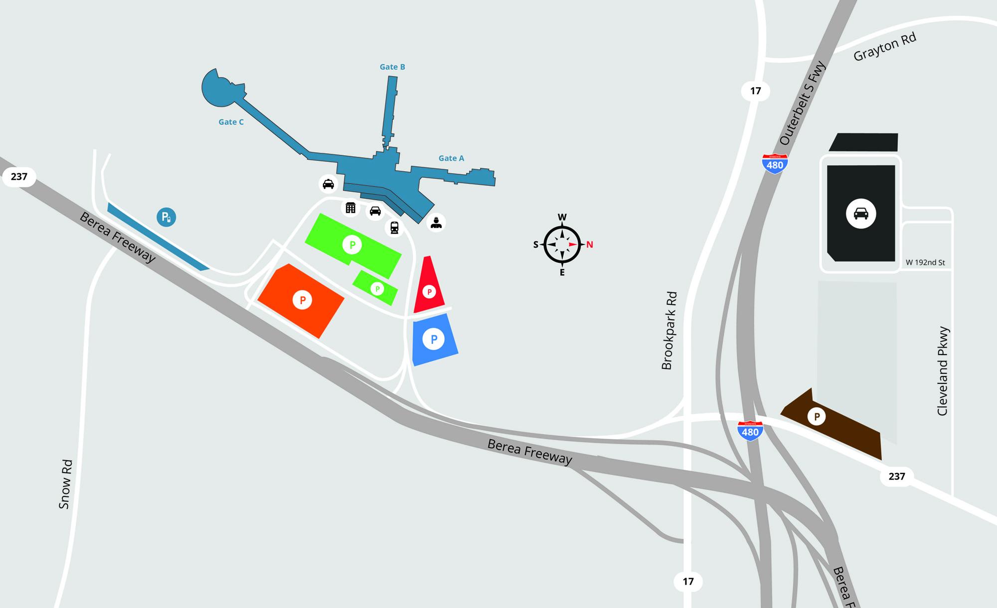Parking & Transit Map