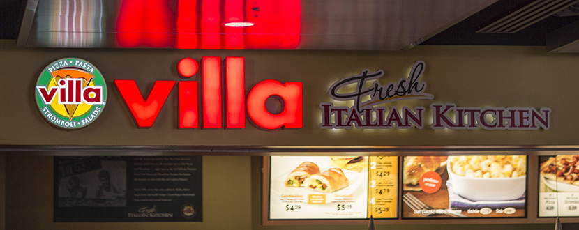 Villa Fresh Italian Kitchen Cleveland Hopkins Airport