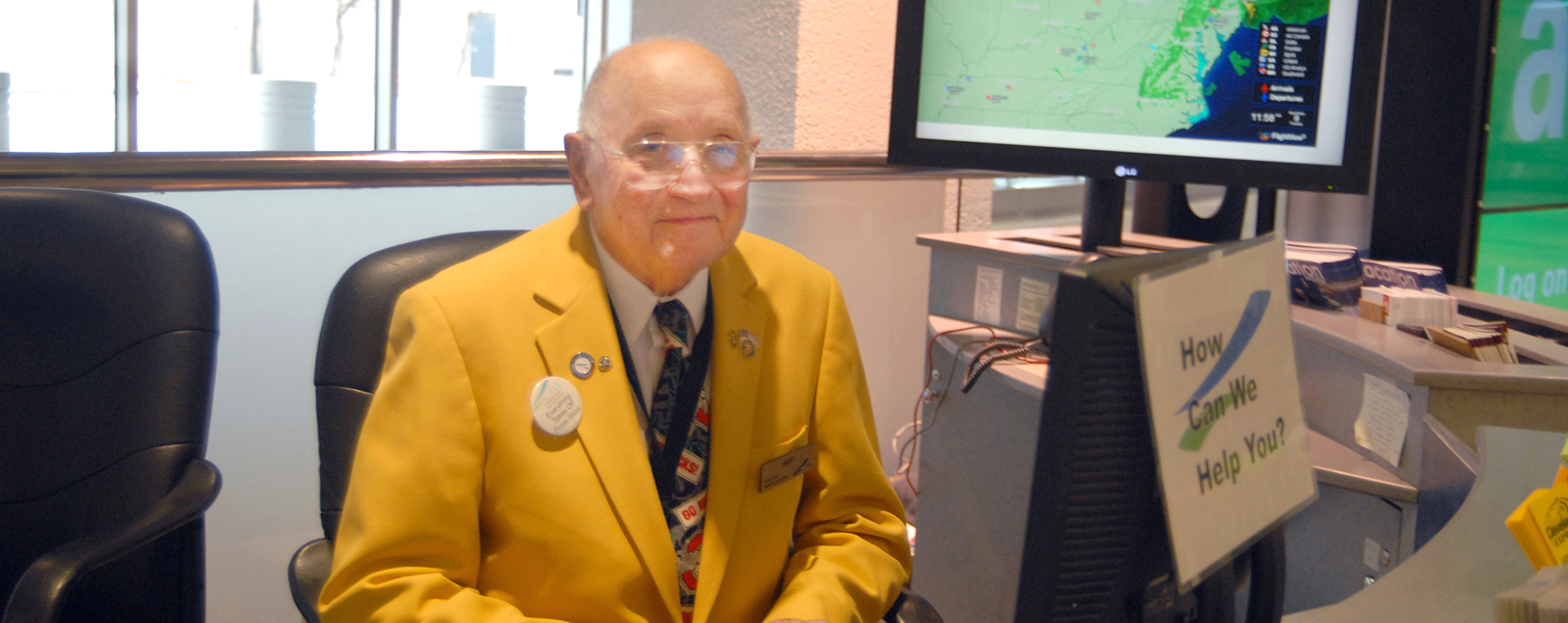 Airport Ambassador Volunteer Program