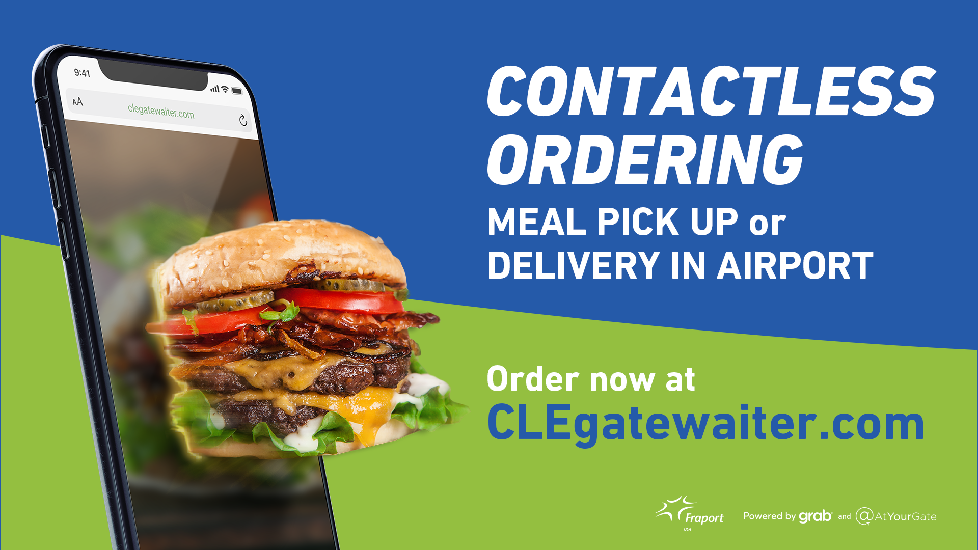 New GateWaiter Mobile Meal Delivery Service takes off at CLE