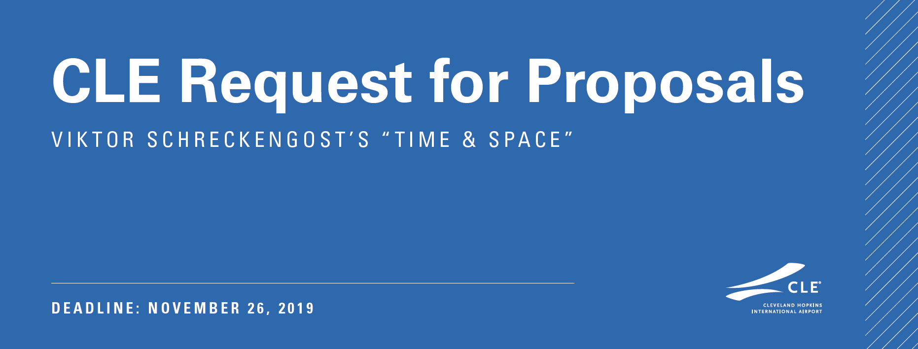 """Call for Proposals: Viktor Schreckengost's """"Time & Space"""""""