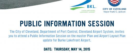 Burke Lakefront Airport - Public Information Session