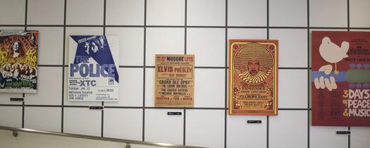 Rock and Roll Hall of Fame Posters