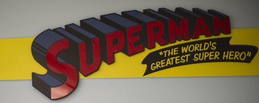 Superman Exhibit
